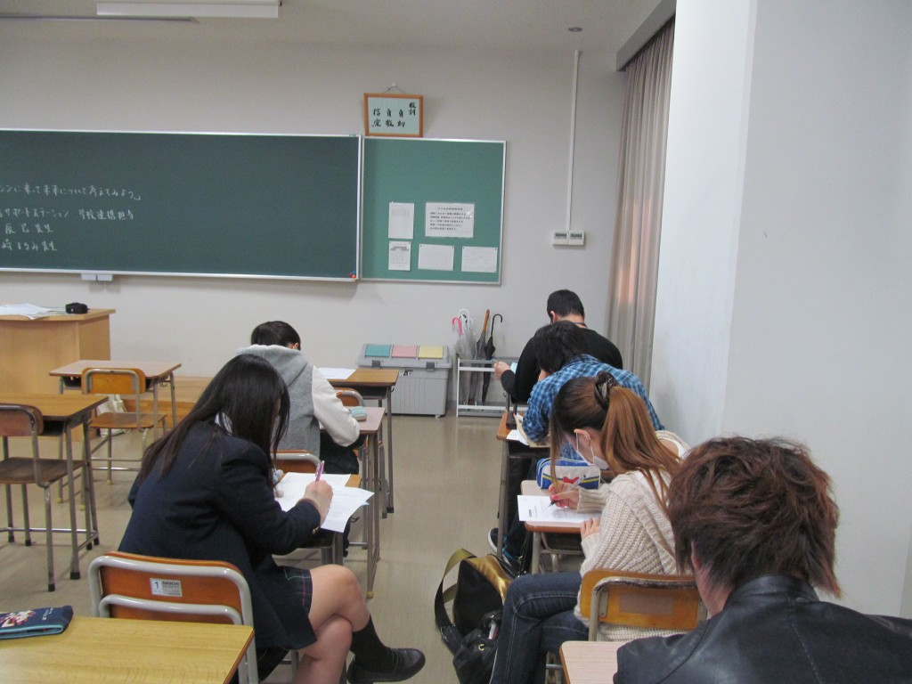 ひびき(授業中)