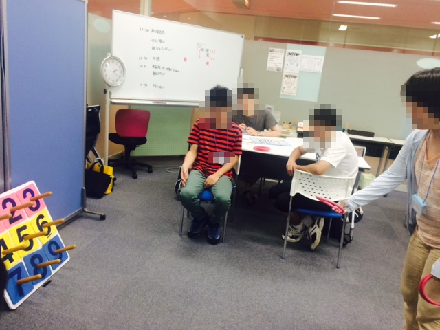 8月22日交流会(輪投げ大会).②